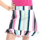 Golftini Girl Money Maker Ruffle Golf Skort