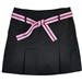 Golftini Black Pleat Ladies Golf Skort