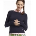 Golftini Long Sleeve Golf Sweater - Navy