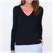 Golftini V-Neck Sweater Navy