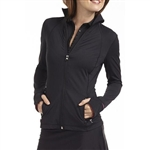 Golftini Tech Jacket Black