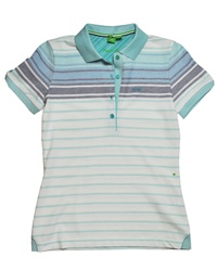 HUGO BOSS Polli 4-Button Polo Turquoise
