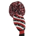 Just4Golf Hybrid Headcovers Sparkle Diagonal Stripe