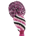 Just4Golf Hybrid Sparkle Diagonal Stripe Headcover