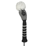 Just4Golf Small Dot Black/White Hybrid Headcover