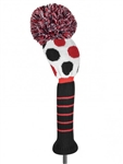 Just4Golf Driver Headcover Large Multi Dot