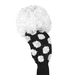 Just4Golf Fairway Sparkle Medium Black/White Dot