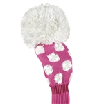 Just4Golf Fairway Sparkle Bright Pink/White Dot