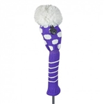 Just4Golf Fairway Purple/White Medium Dot
