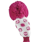Just4Golf Hybrid Sparkle Pink Dot Headcover