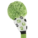 Just4Golf Hybrid Headcover - Sparkle Lime Dots