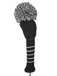 Just4Golf Driver Headcover - Black/White