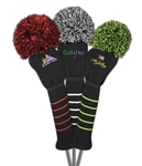 Just4Golf Custom Embroidered Driver Headcover