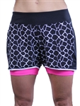 JoFit Running Short- Florescent Pink