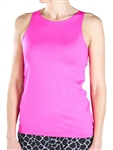 Jofit Jacquard Excursion Tank Flourescent Pink