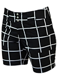 JoFit Belted Golf Short - Windowpane
