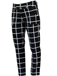 JoFit Belted Cropped Pant Black Windowpane