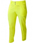 JoFit Belted Cropped Pant Citron