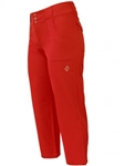 JoFit Belted Cropped Pant Lipstick Red