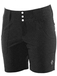 JoFit Belted Golf Short Heather Charcoal