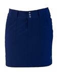 JoFit Belted Golf Skort - Blue Depth