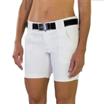 JoFit Belted Golf Short White