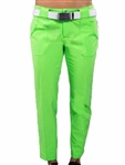JoFit Belted Cropped Golf Pant - Grass