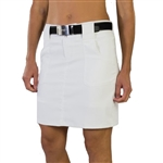 JoFit Belted White Golf Skort