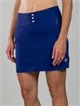 JoFit Signature Golf Skort Blue Depth