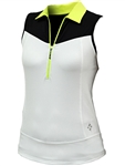 JoFit Straight Up Golf Top - White