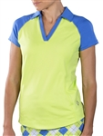Jofit Jo Tech Polo - Green Apple