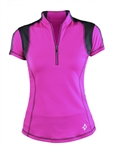 Jofit Oracle Golf Top - Fluorescent Pink
