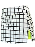 JoFit Tennis Skort - White Windowpane