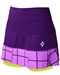 JoFit Tennis Panel Pleat Skort Grape