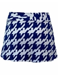 JoFit Swing Tennis Skort Blue Houndstooth