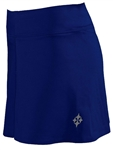 JoFit Swing Tennis Skort - Blue Depth