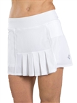 JoFit Dash Tennis Skort – White