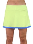JoFit Banded Swing Tennis Skort - Apple Green