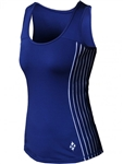 JoFit Rally Tennis Tank – Blue Depth