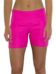 JoFit Live In Short Fluorescent Pink