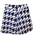 JoFit Swing Golf Skort - Blue Houndstooth