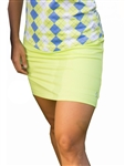 Jofit Jacquard Mina Golf Skort Green Apple