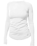 Jofit UV Long Sleeve Top White