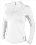 Jofit Long Sleeve Mock Shirt White