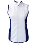JoFit Tech Vest White/Blue Depth