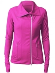 JoFit Lifestyle Jet Set Jacket JoPink