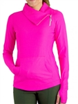JoFit Lifestyle Jumper Jacket Florescent Pink