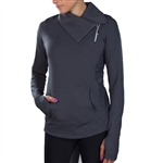 JoFit Lifestyle Jumper Jacket Heather Charcoal