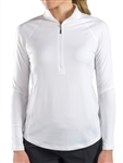 JoFit Brushed Long Sleeve Mock - White