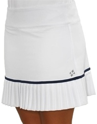 JoFit Charleston Pleated Skort Navy/White